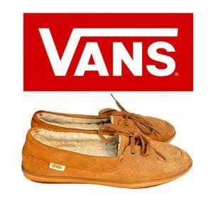 Vans Leather Moccasins - Size 6